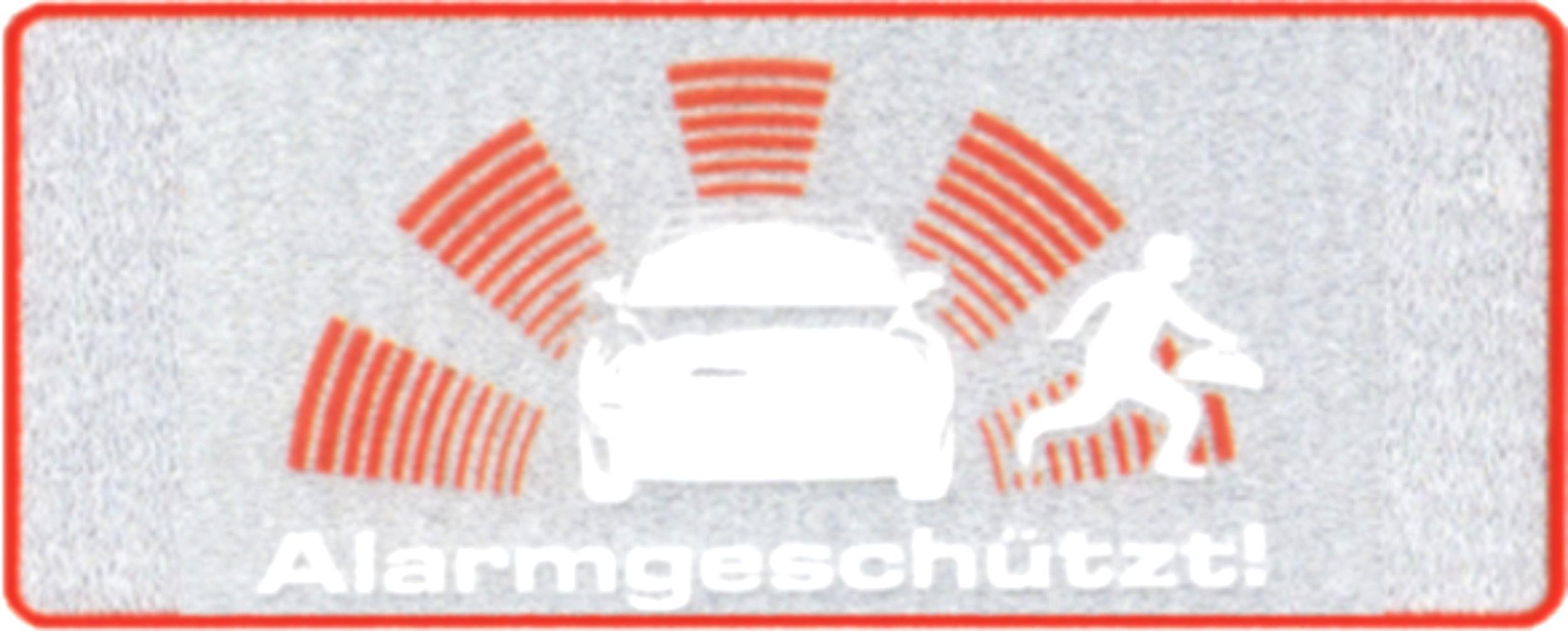 Sticker Alarmgeschützt – Bild 1