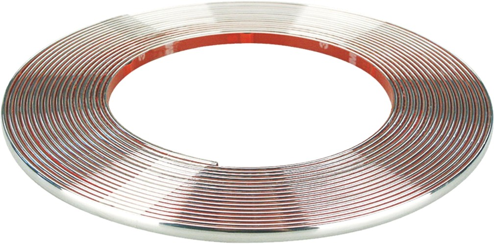 Car chrome trim line profile thickness 3,5 x 2 mm length 5 m – Bild 1
