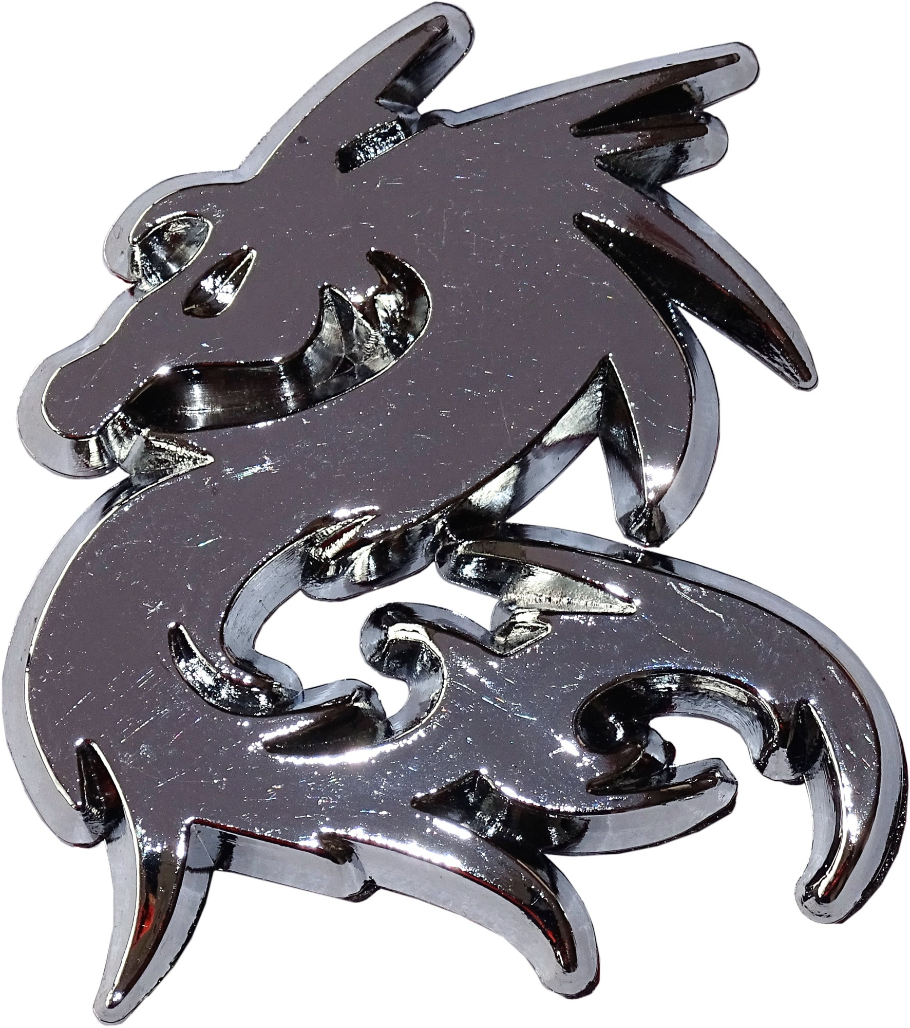 Relief-Chrome-Tattoo Drache