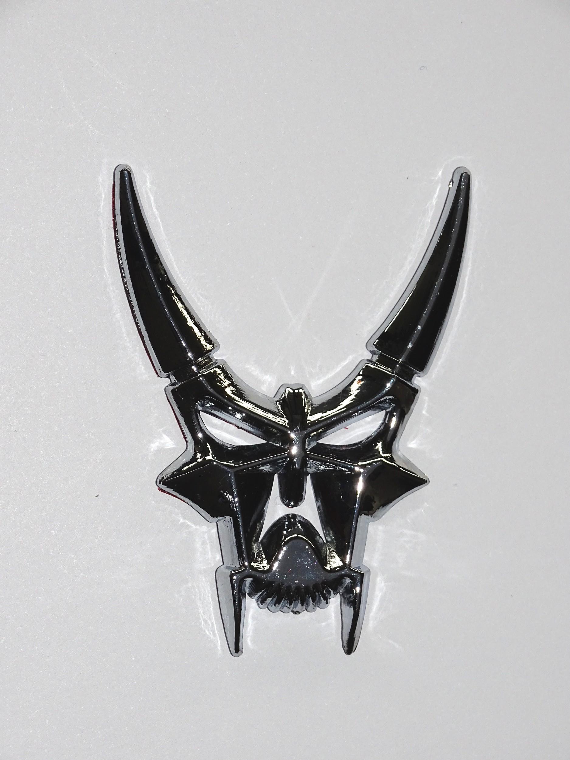 Tatou 3D moulé diable avec cornes – Bild 2