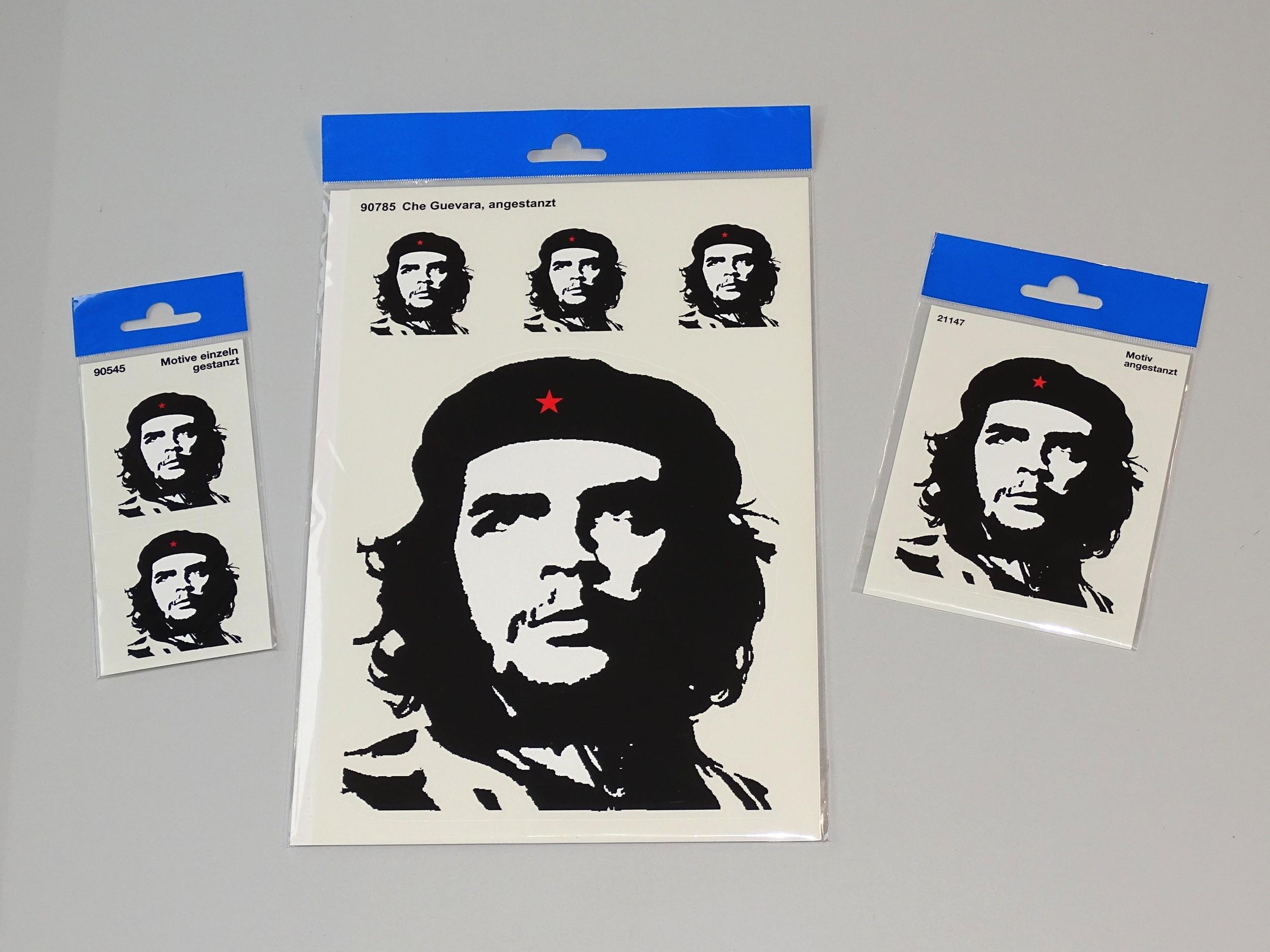 Aufkleber Che Guevara Kontur 135 x 110 mm – Bild 2