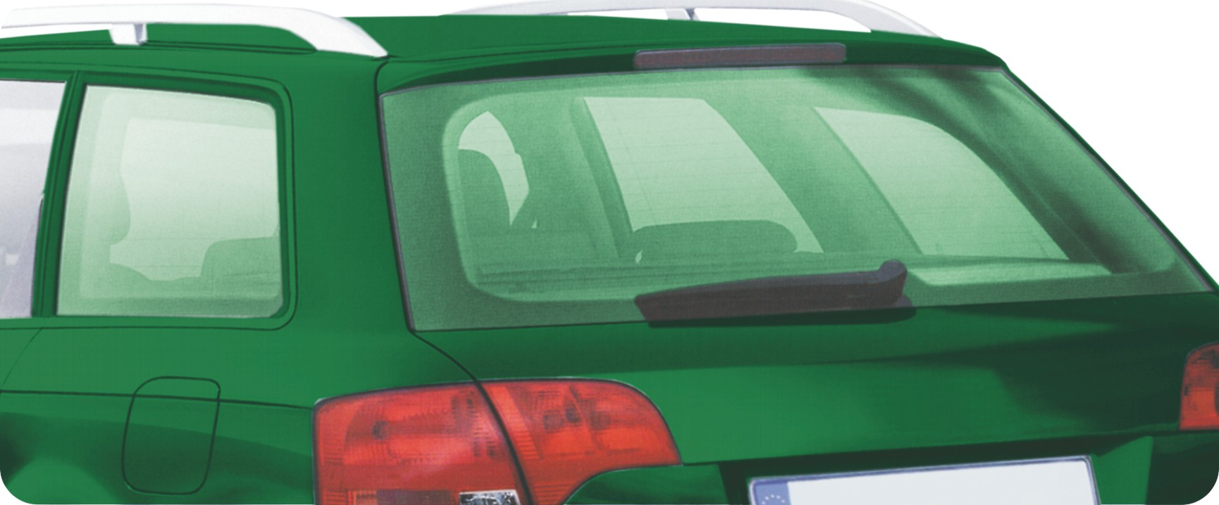Farbige Tönungsfolie Virgin green Set 76 x 152 cm und 51 x 152 cm Frühjahrsaktion!!