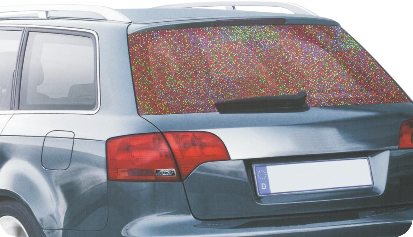 Tönungsfolie Holografie-Folie Glitter 61 x 150 cm