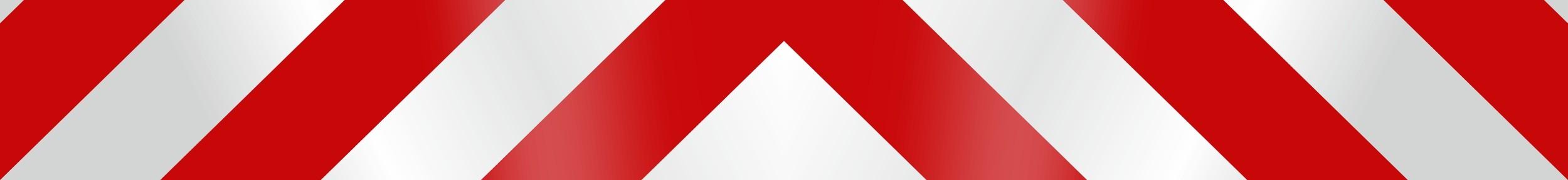 Sticker reflecting-glow-line pole-stripe white/red – Bild 1