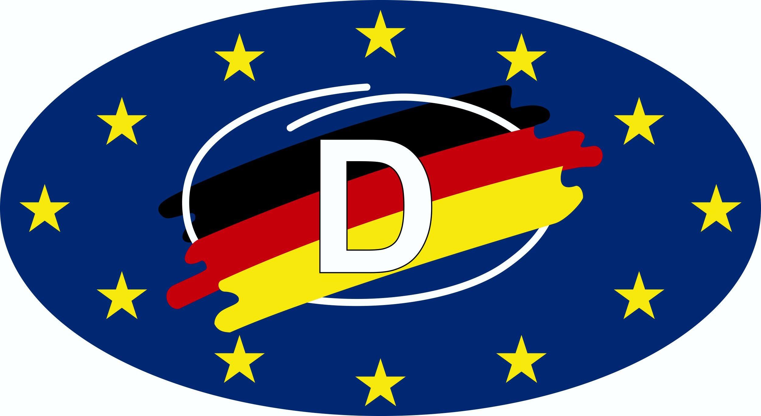 Aufkleber Deutschland Holografie 115 x 60 mm Deutschland Fanartikel Olympia – Bild 1