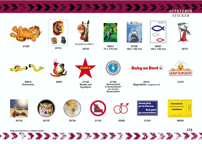 Sticker Bitte im Sitzen pinkeln 110 x 150 mm – Bild 2