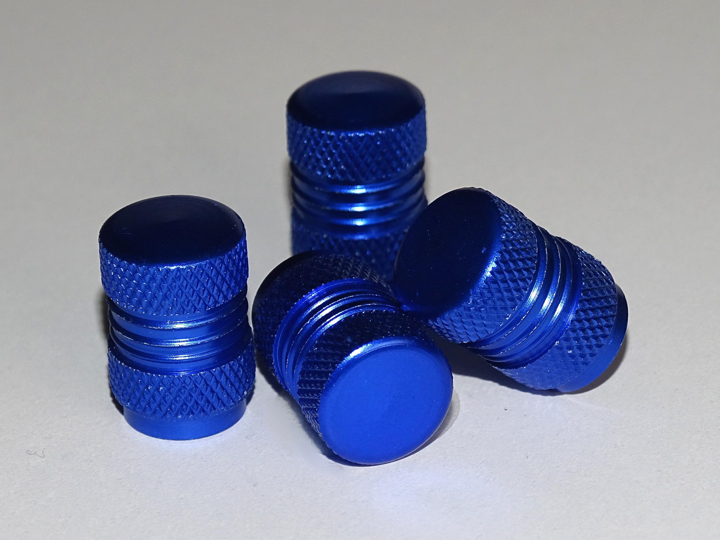 Vent-Caps neutral blue set: 4 pieces – Bild 1