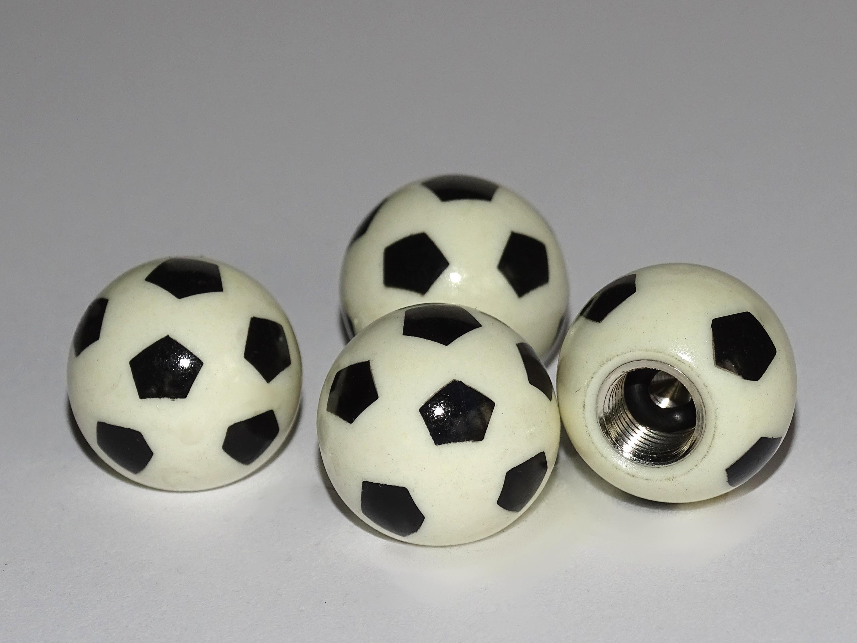 Ventilkappen Vent-Cap Fußball 4er-Set – Bild 1