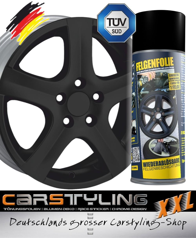 Mibenco liquid film flat black (consisting of one tin 400ml) ...also for car body – Bild 1