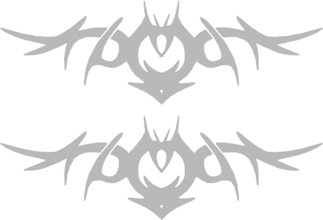 Aufkleber Spiegel- und Car-Tattoo Tribal I – Bild 1
