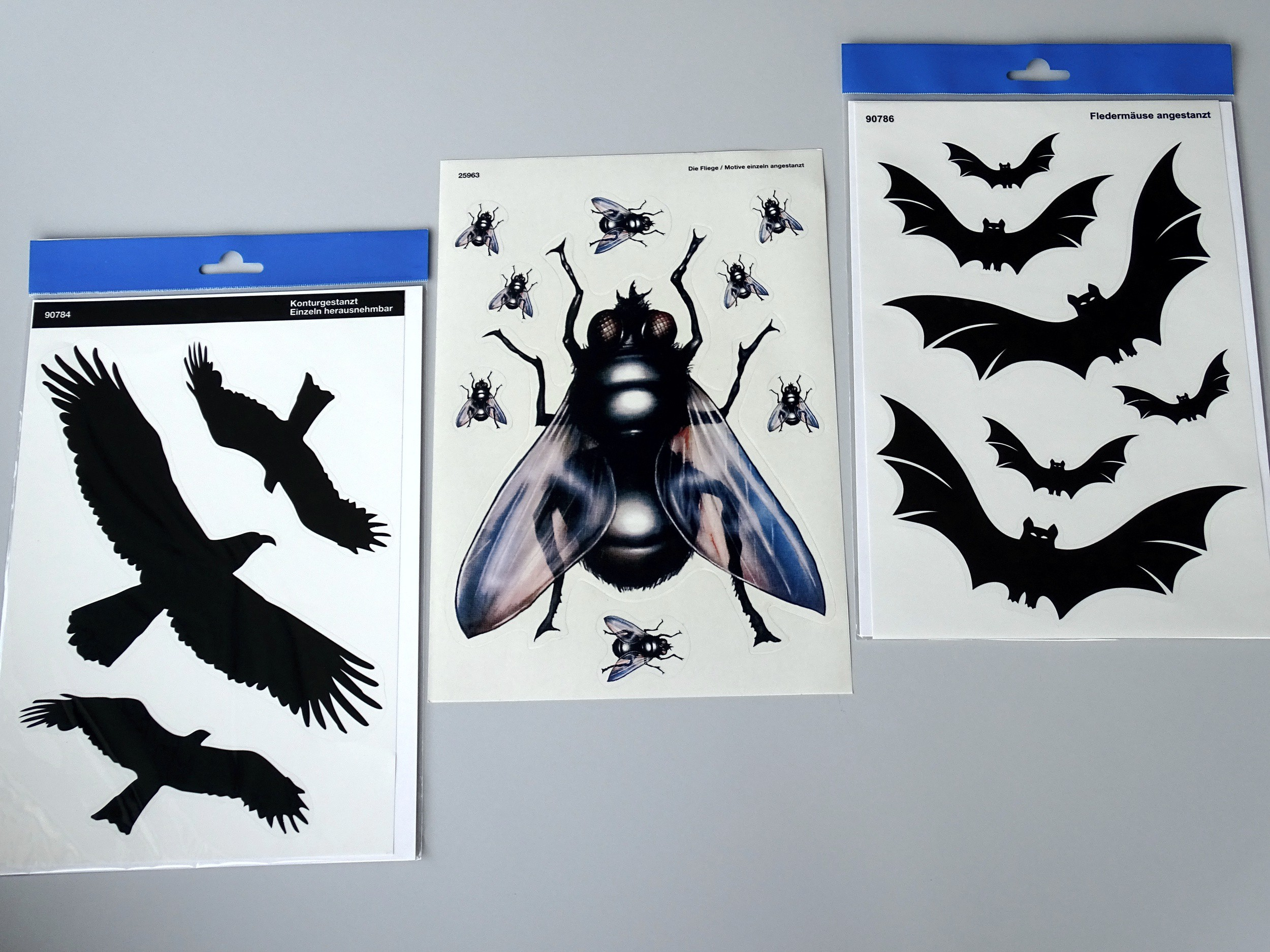 Sticker Outline assortment of bats 6 pcs – Bild 2