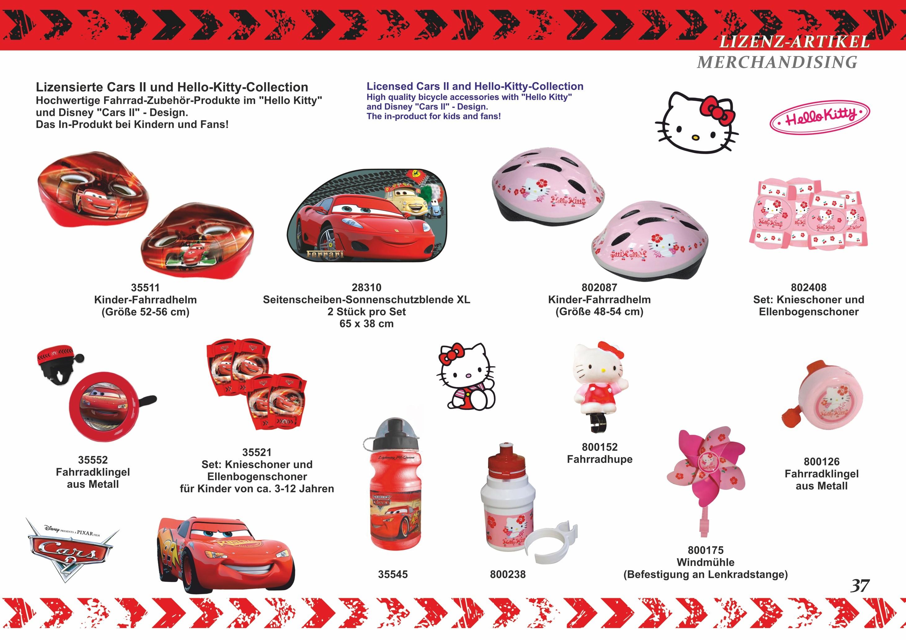 Hello Kitty Fahrradtrinkflasche – Bild 4