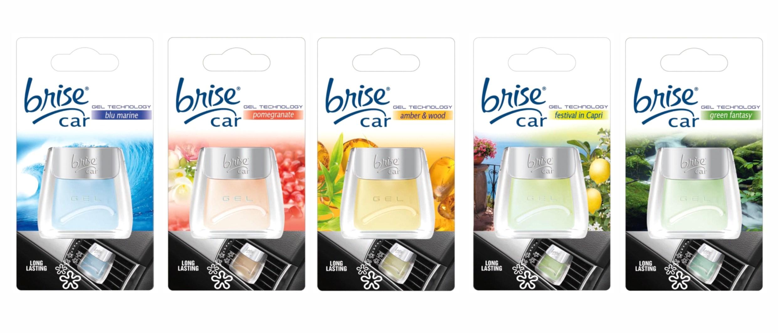 Airgel car air freshener Brise Car flavor: Festival in Capri  -  Brise by Glade – Bild 4