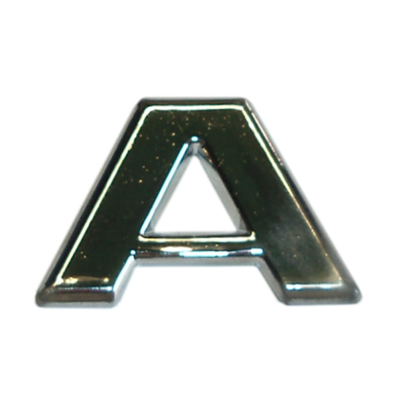 3D-relief-chrome-letter A – Bild 1
