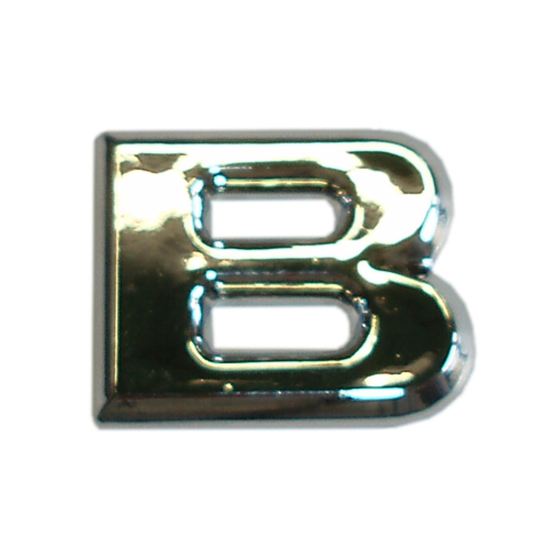 3D-Relief-Chrome-Buchstabe B – Bild 1