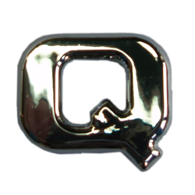 3D-relief-chrome-letter Q – Bild 1