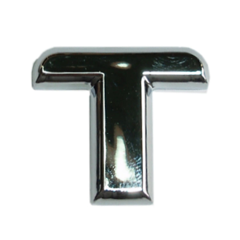 3D-Relief-Chrome-Buchstabe T – Bild 1