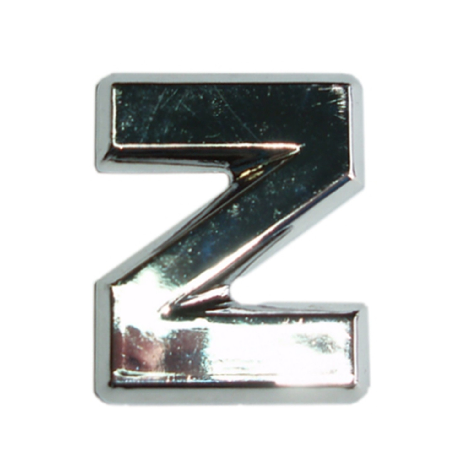 3D-Relief-Chrome-Buchstabe Z