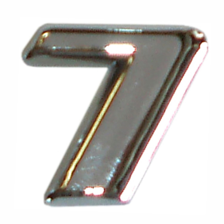 3D-relief-chrome-number 7 – Bild 1