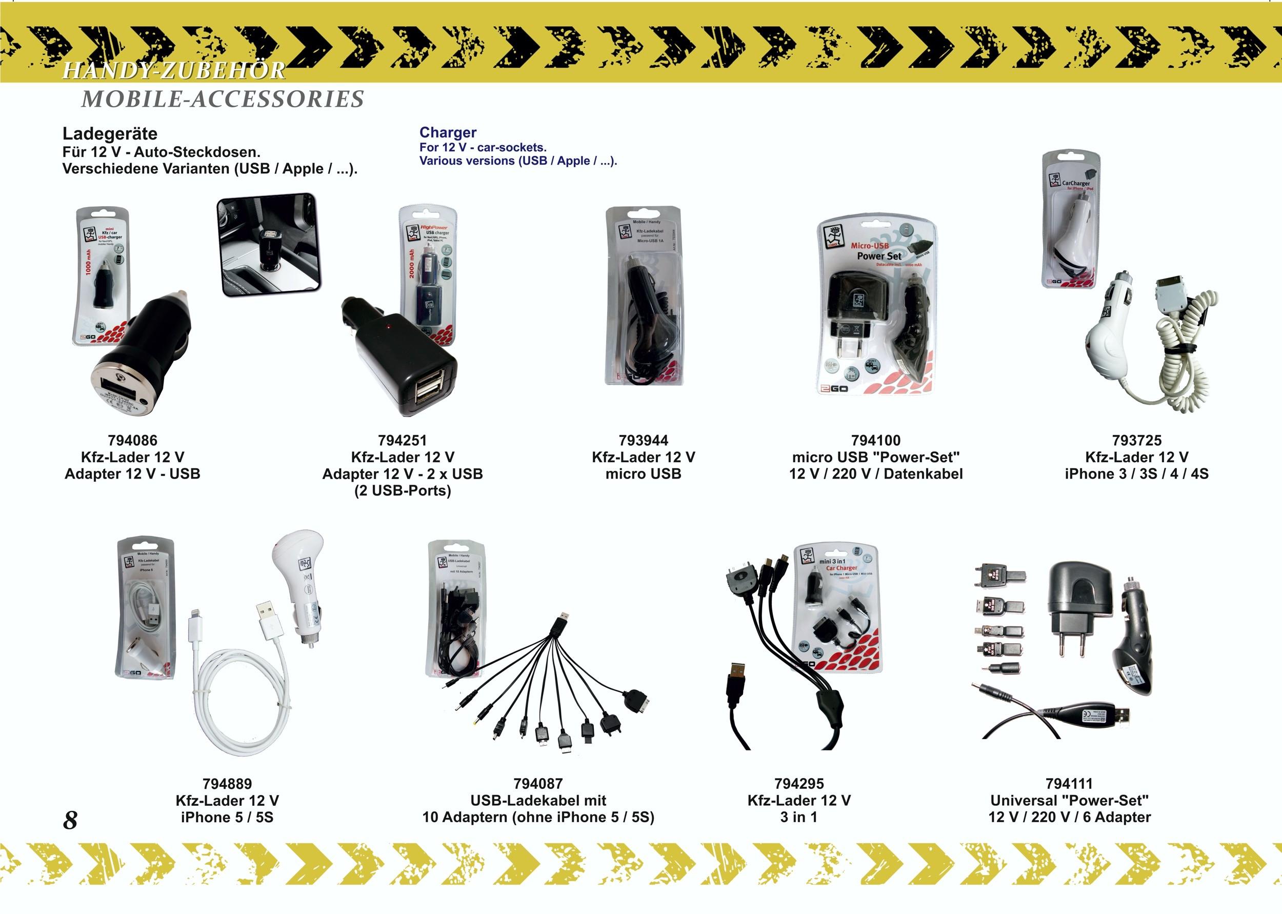 2GO Datenkabel USB - Apple Lightning schwarz – Bild 5