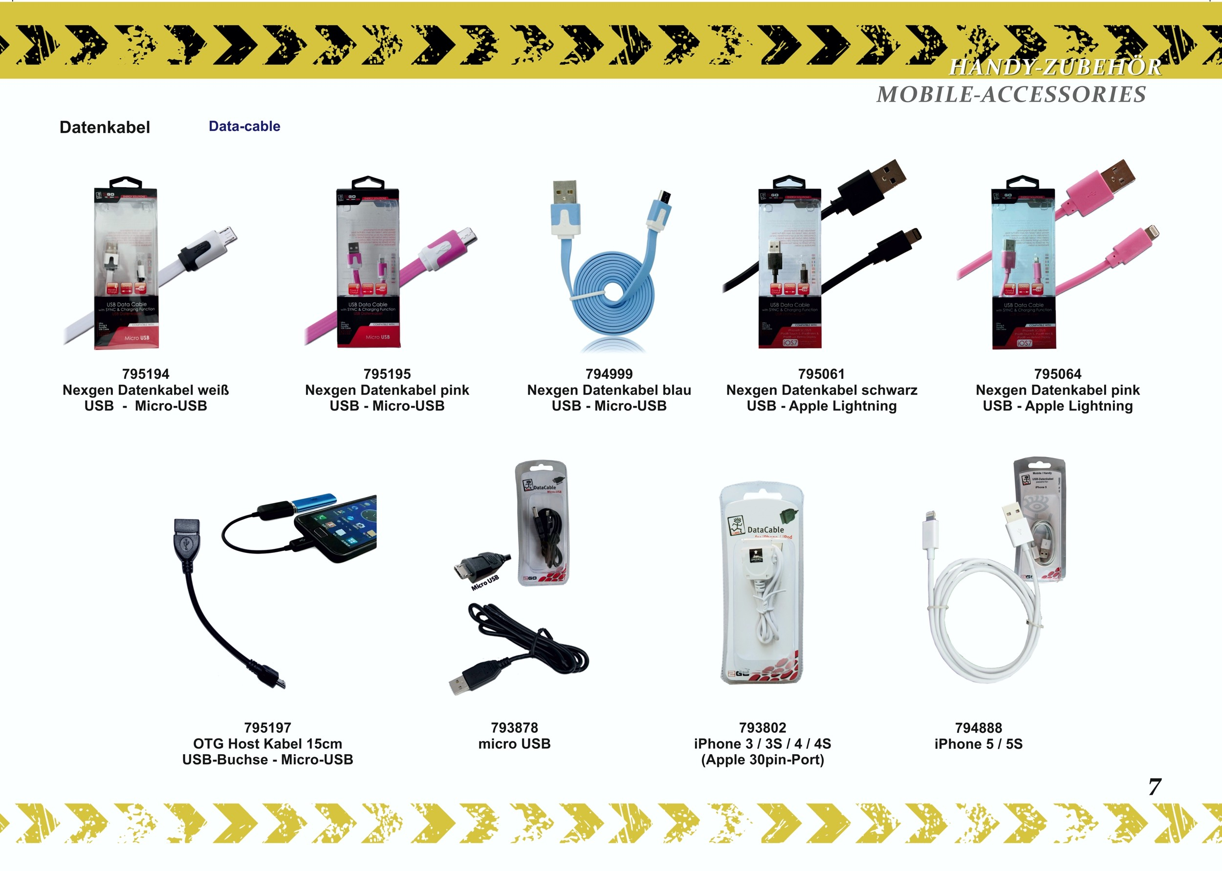 2GO Datenkabel USB - Apple Lightning schwarz – Bild 4
