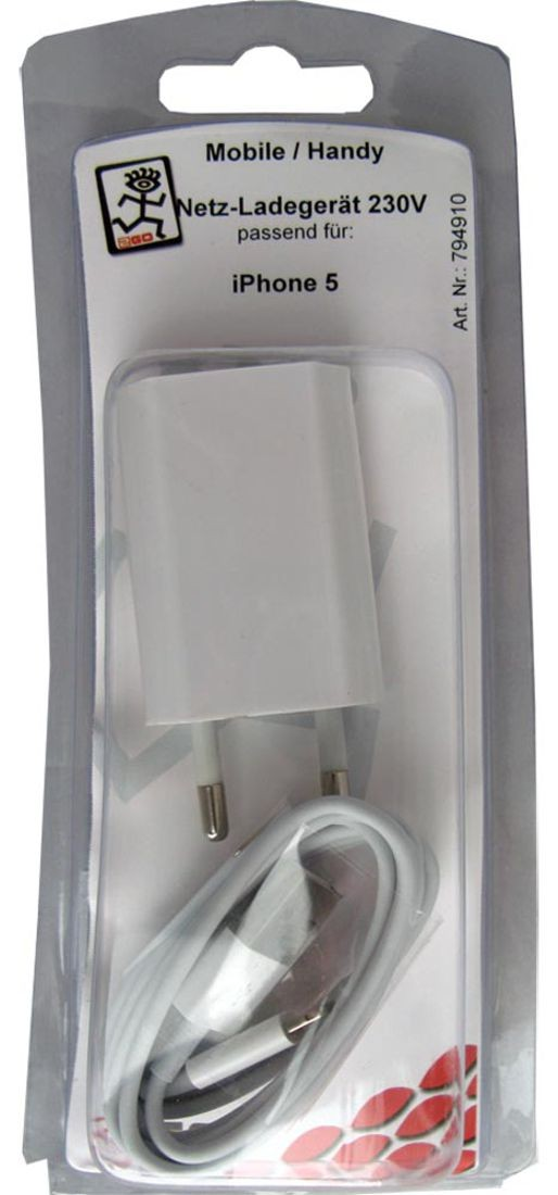2GO chargeur 230V Apple Lightning – Bild 1