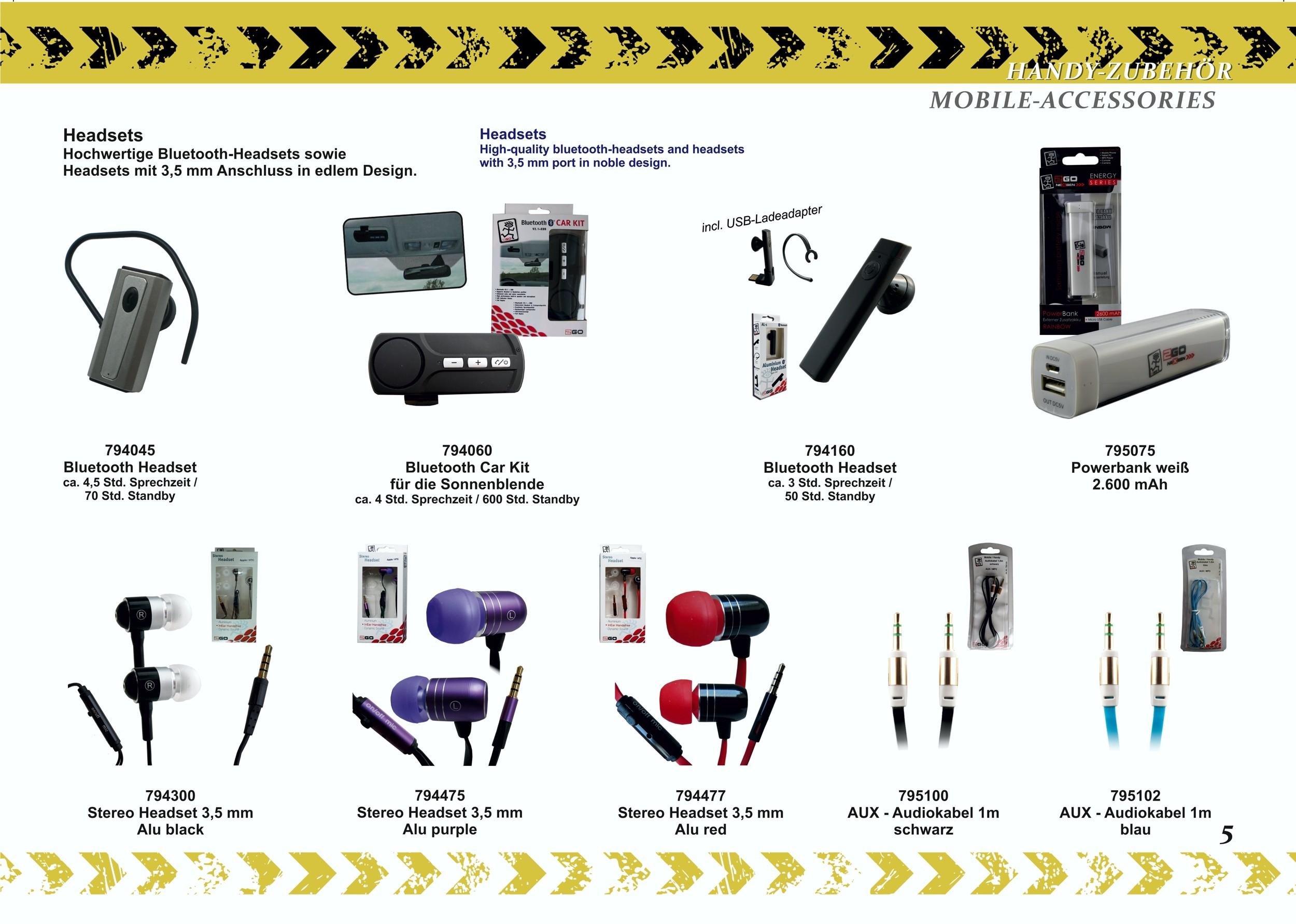 2GO AUX-audio cable 1,0 m  black    – Bild 2