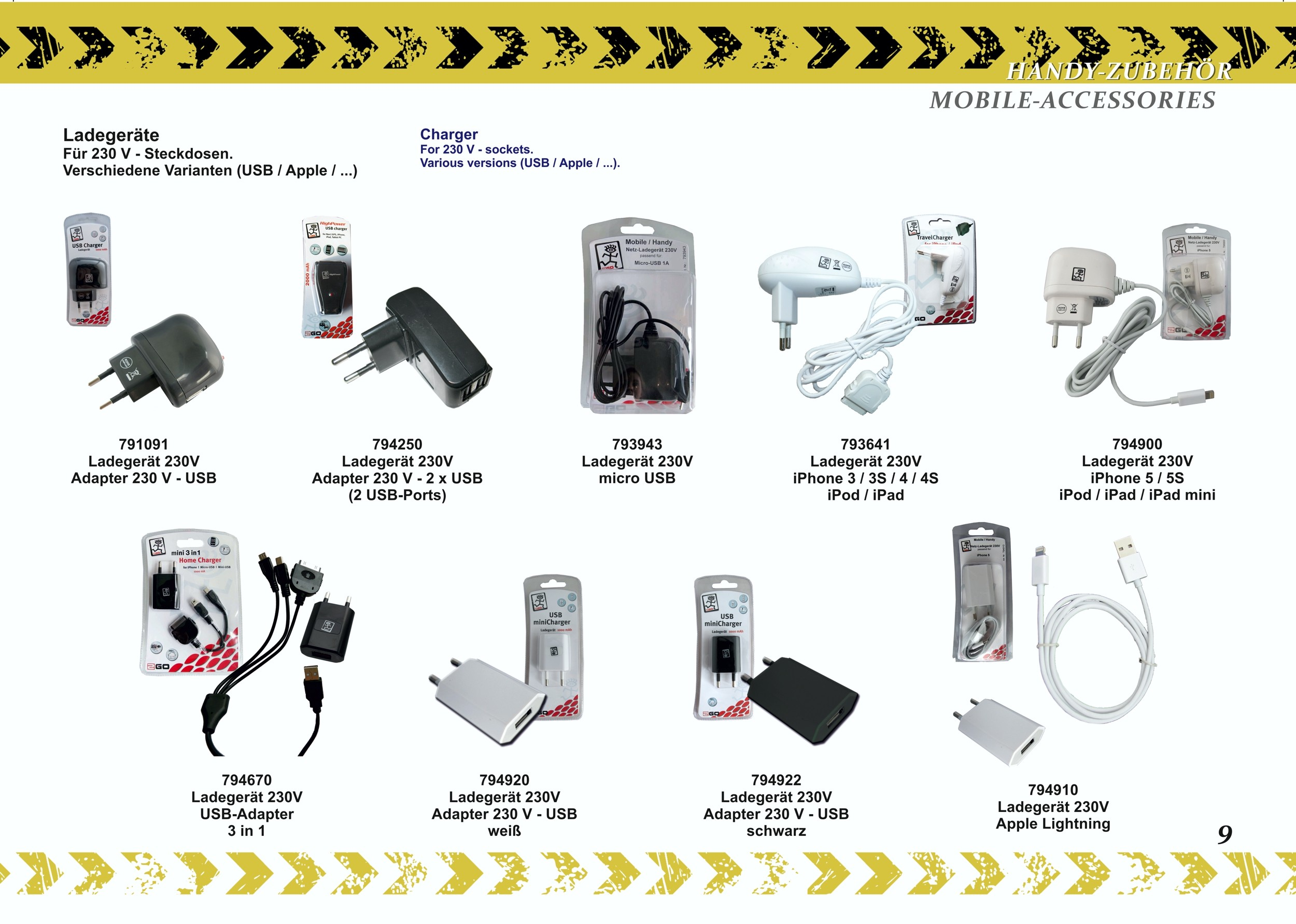 2GO AUX-audio cable 1,0 m  black    – Bild 6