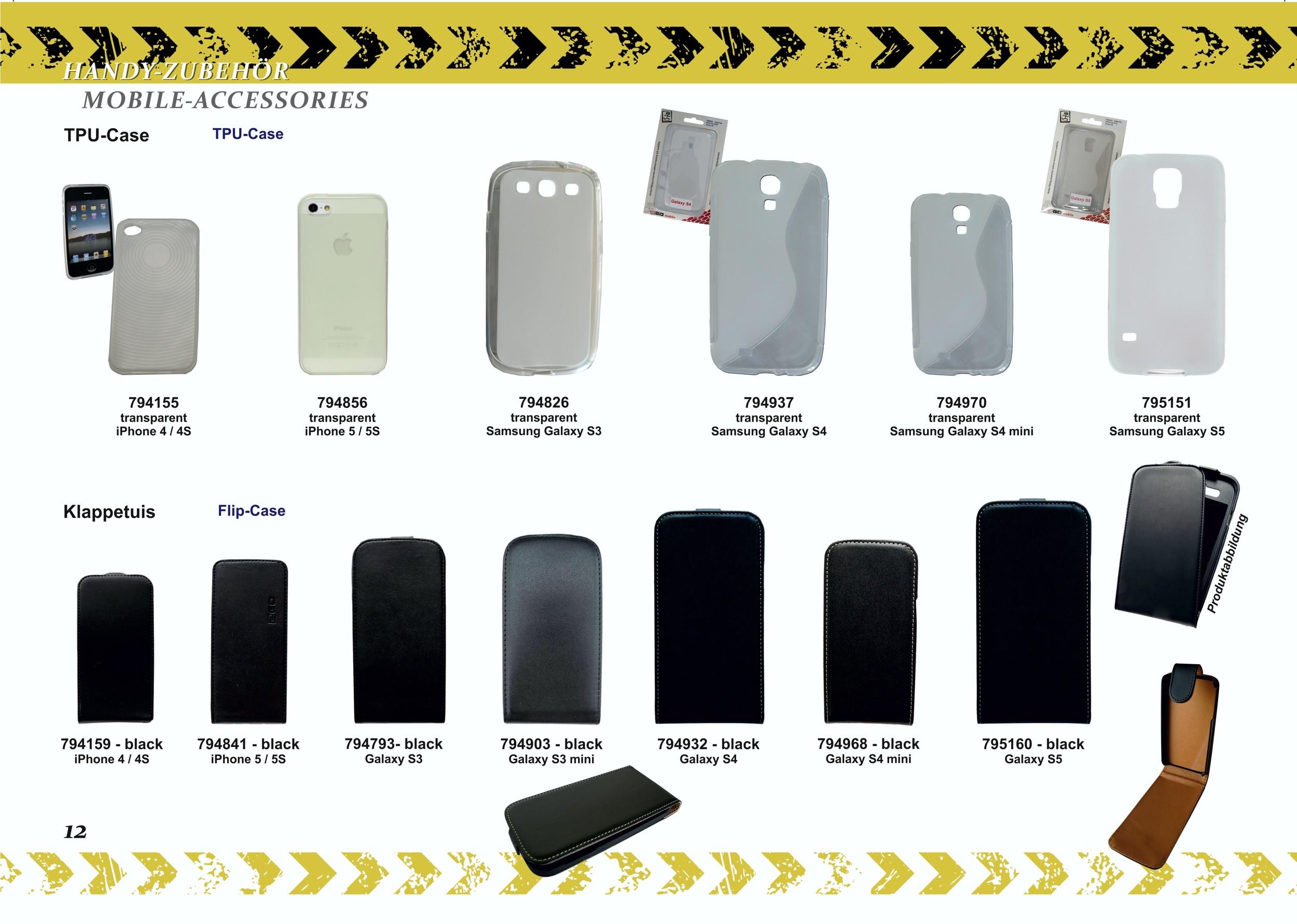 2GO Klappetui Samsung Galaxy S3 mini schwarz – Bild 4