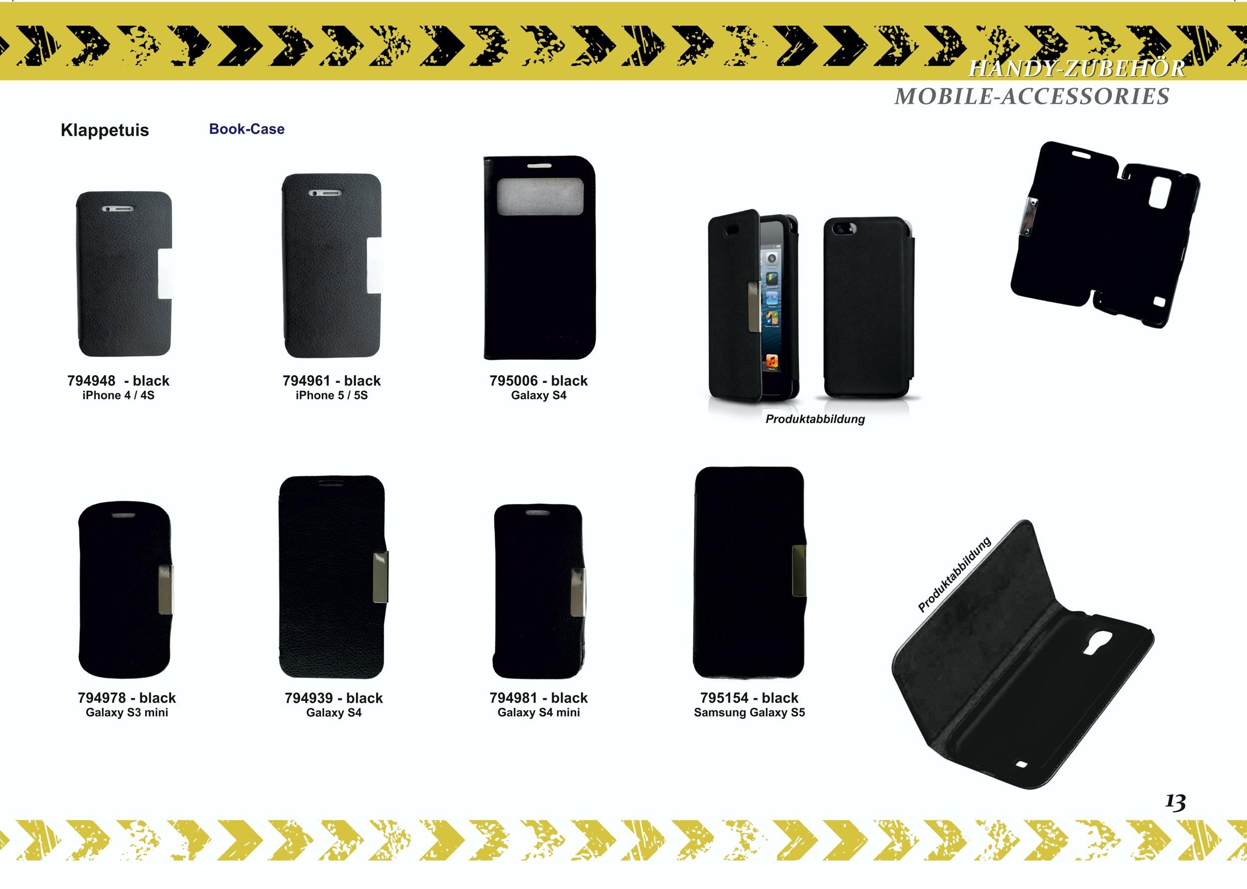2GO Klappetui Samsung Galaxy S5 schwarz – Bild 7