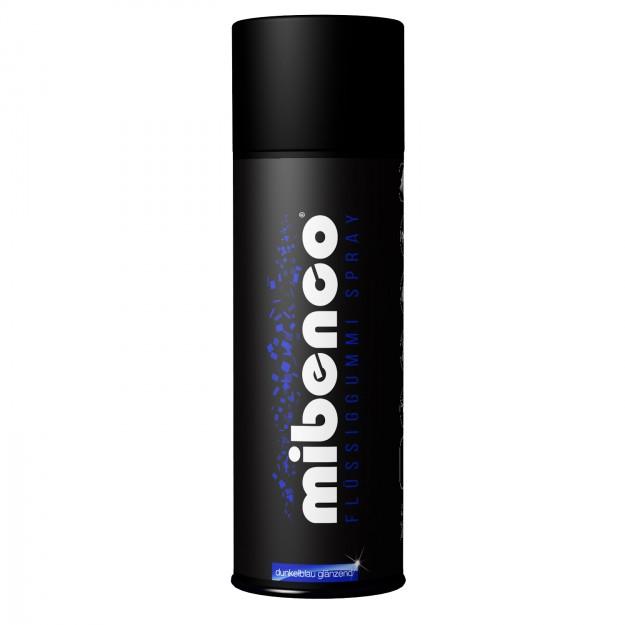 Mibenco liquid film spray, dark blue glossy (spray can 400ml) ...also for car body – Bild 2