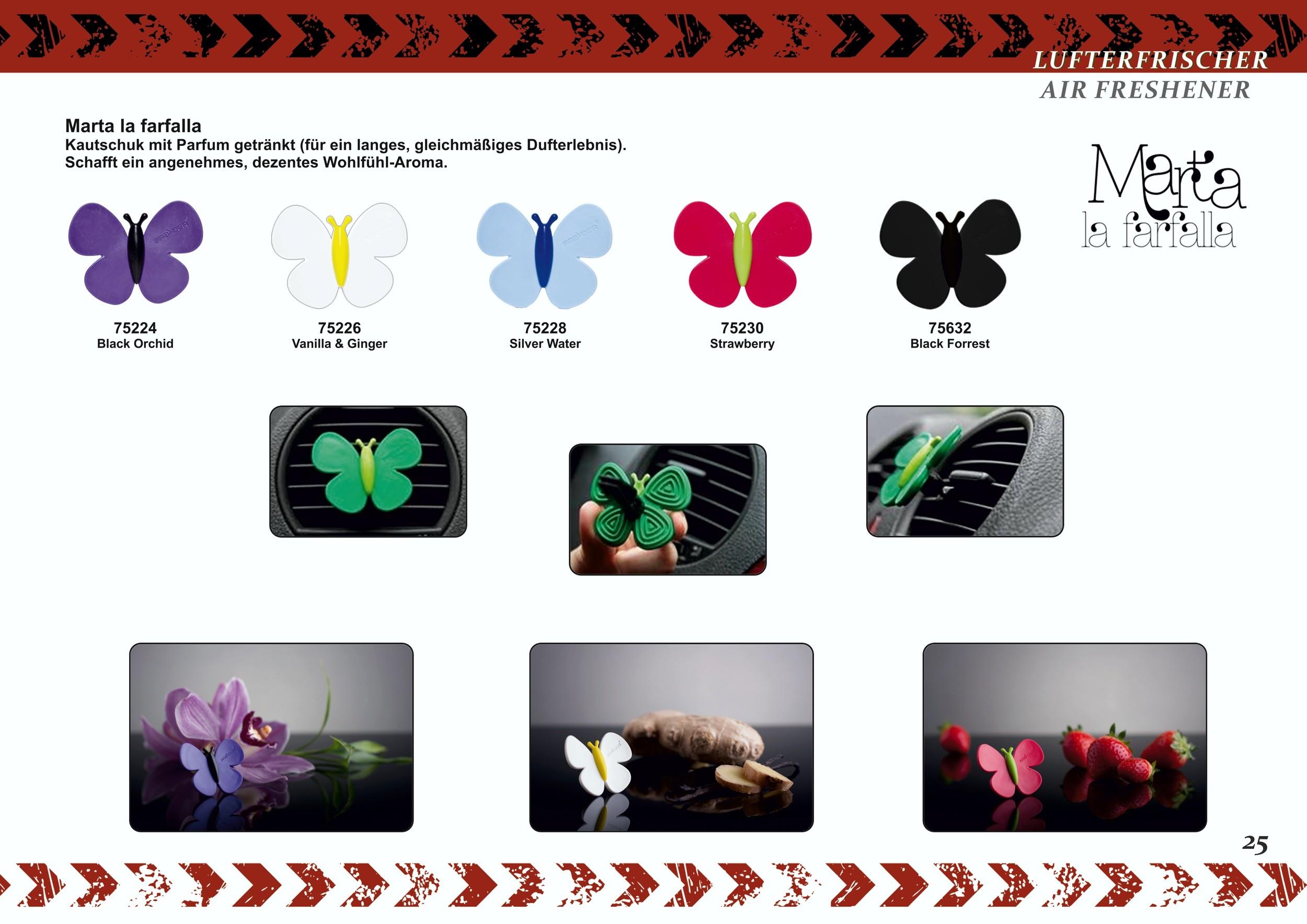 Marta la farfalla parfum d'ambiance odeur: black orchid – Bild 6