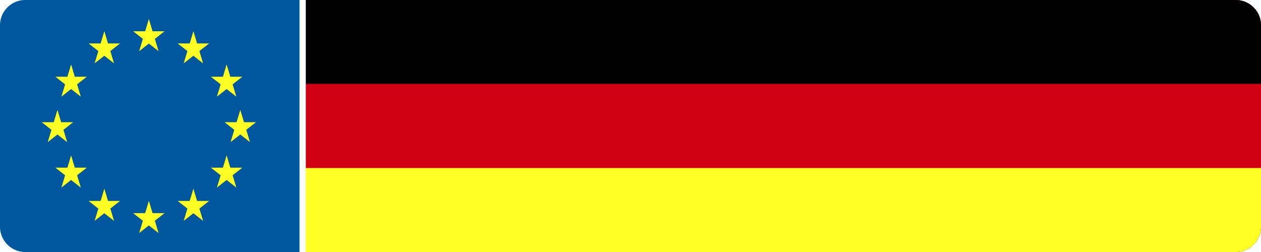 Sticker Germany dimension 20 x 100 mm – Bild 1