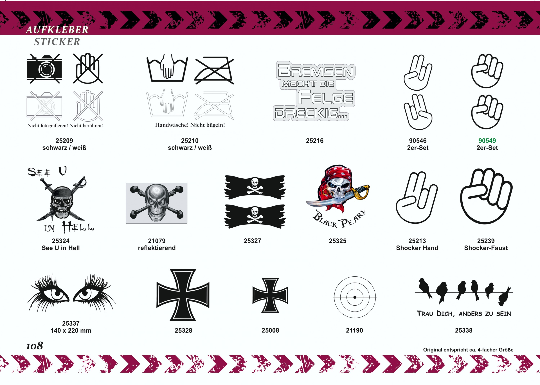 Aufkleber Eisernes Kreuz 80 x 80 mm – Bild 5