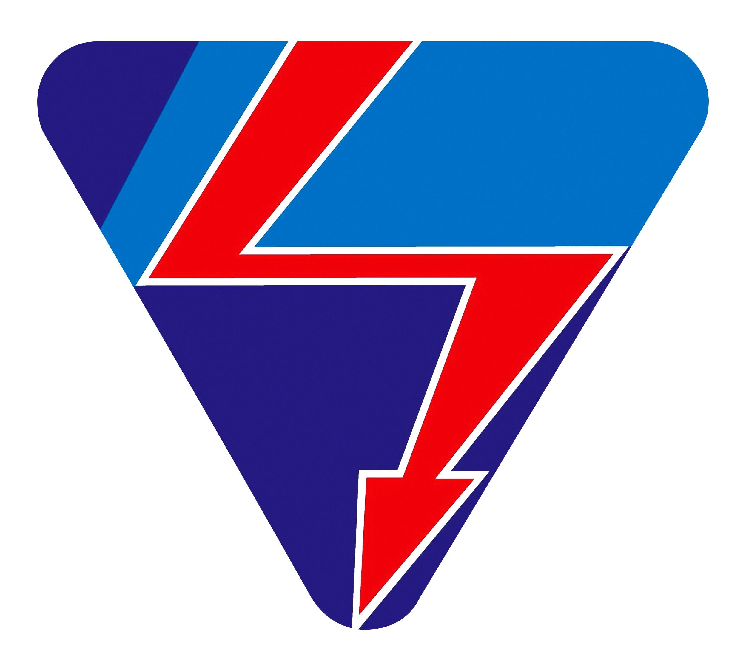 Autocollant Fleuve principal interrupteur triangulaire 70 x 80 mm – Bild 1