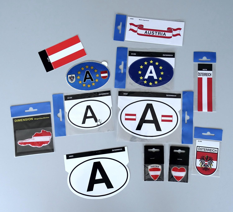 Sticker Emblem Austria 80 x 65 mm – Bild 2