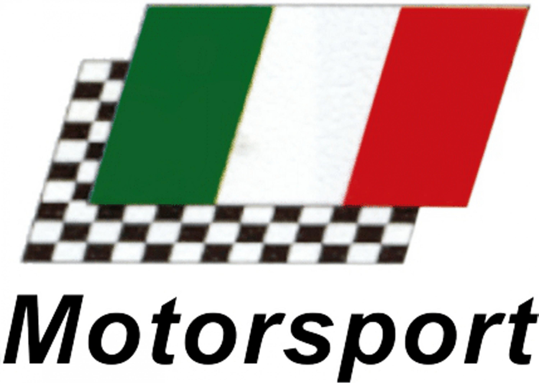 Autocollant Motorsport drapeau Italie 105 x 145 mm – Bild 1
