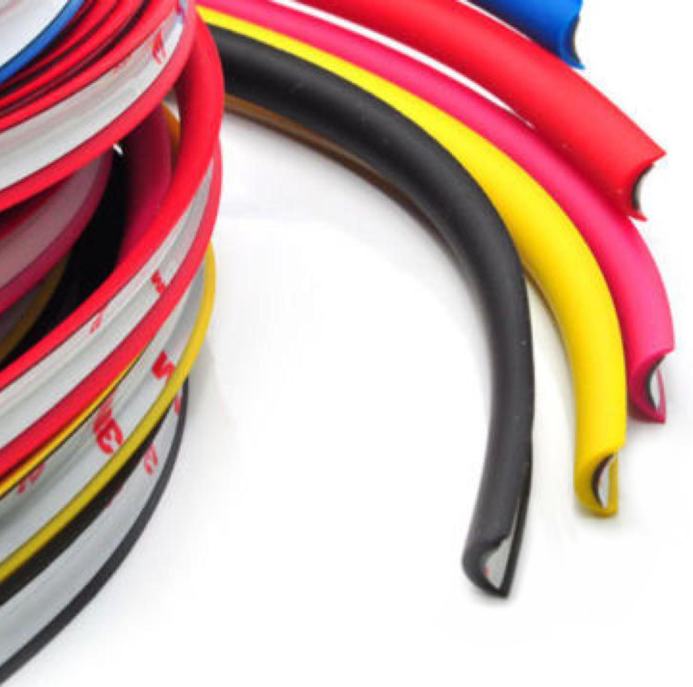 Rimblades mit 3M Kleber - Farbe: weiß - Premium Felgenschutz und Styling für Alufelgen bis 22'' – Bild 4