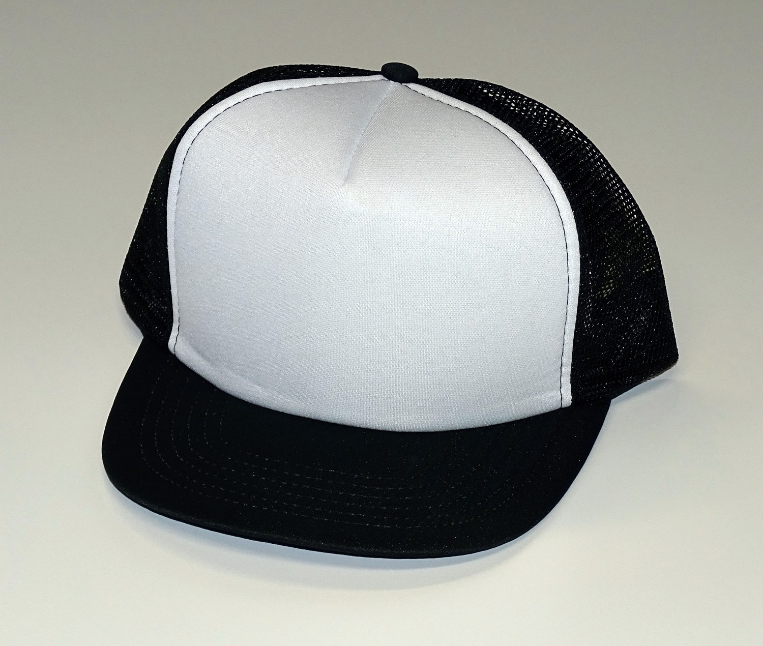 Baseball Mesh Cap set of 10 black/white – Bild 1