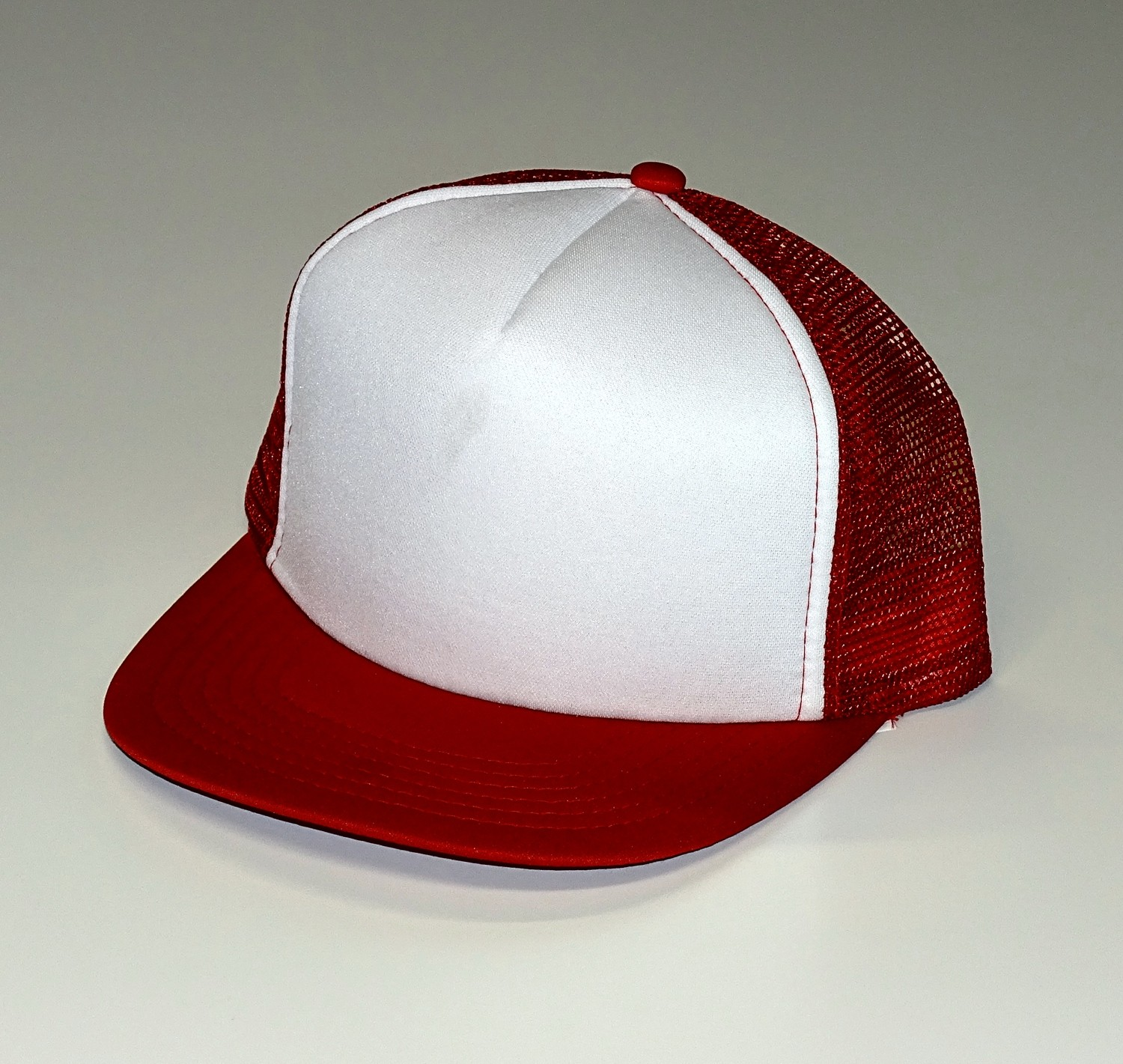 Baseball Mesh Cap set of 10 red/white – Bild 1