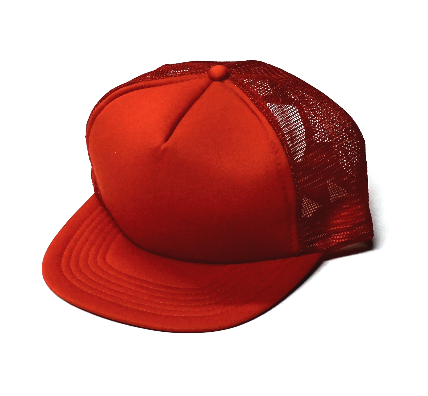 Baseball Mesh Cap set of 10 red – Bild 1