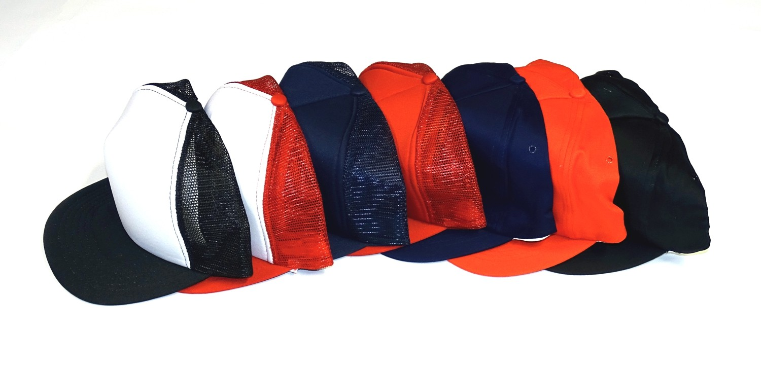Baseball Mesh Cap set of 10 red – Bild 2