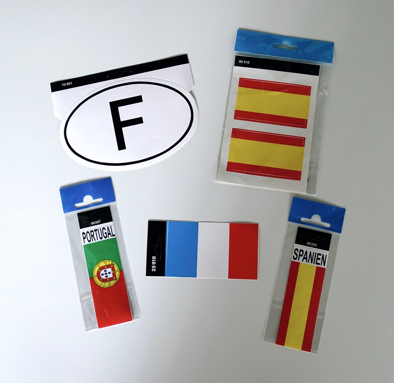 Sticker F-Plate 115 x 170 mm – Bild 2