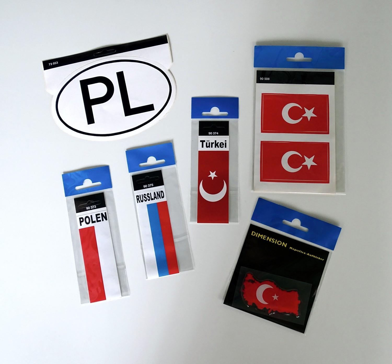 Aufkleber PL-Schild 115 x 170 mm – Bild 2