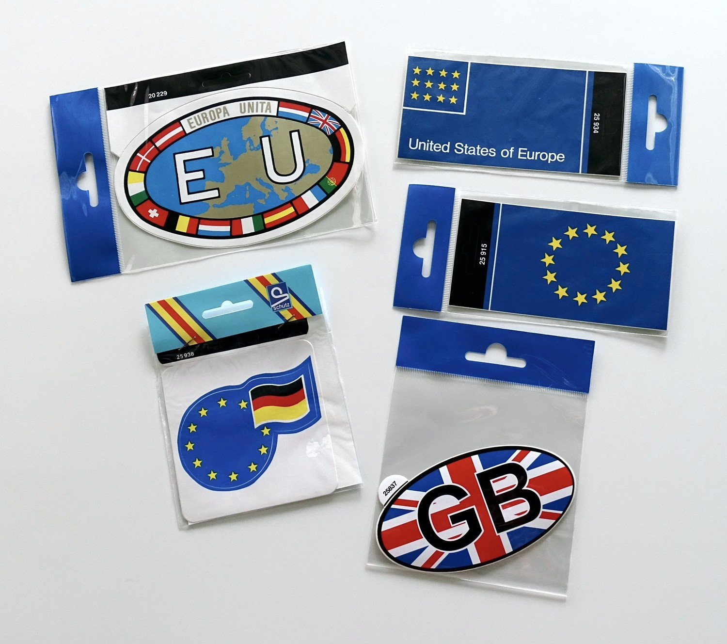 Sticker EU with flags 100 x 155  mm – Bild 2