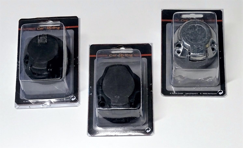 Steckdose 13-polig PVC 75 x 65 x 50 mm – Bild 3