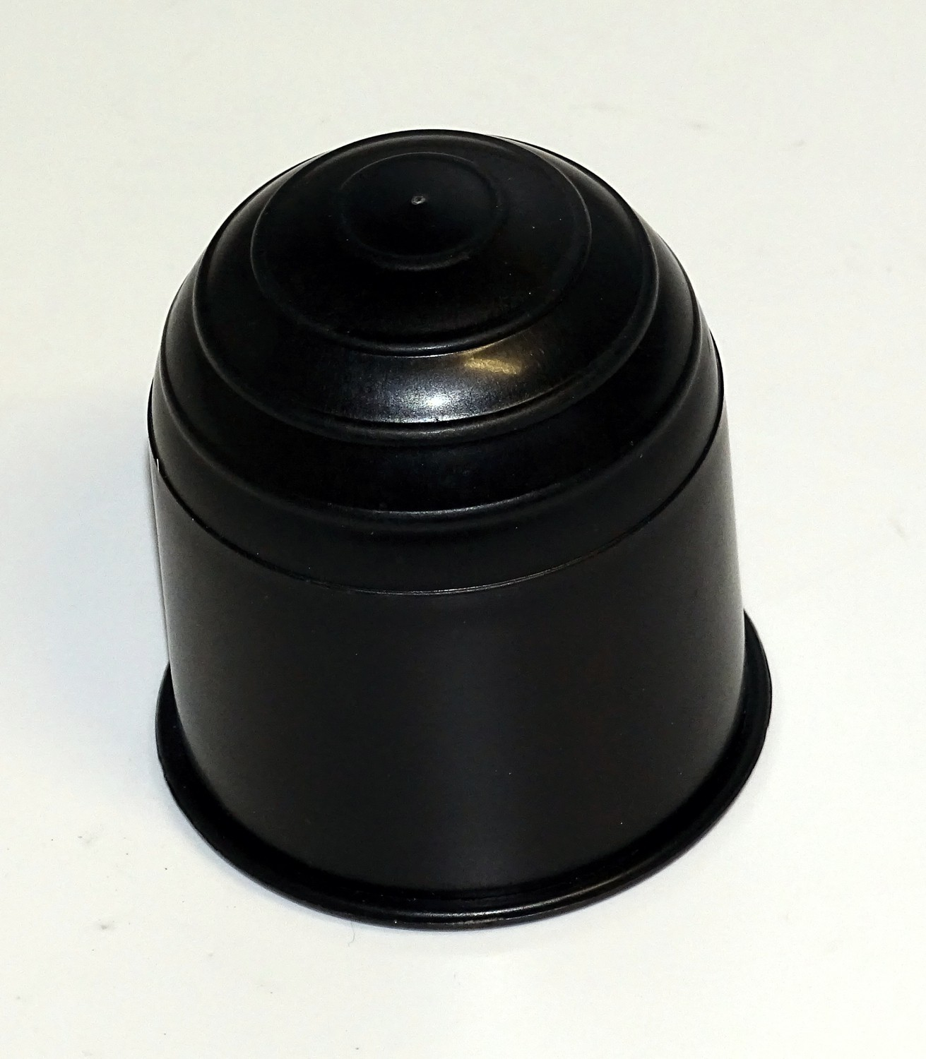 Ball coupling protection cap black of plastic – Bild 1