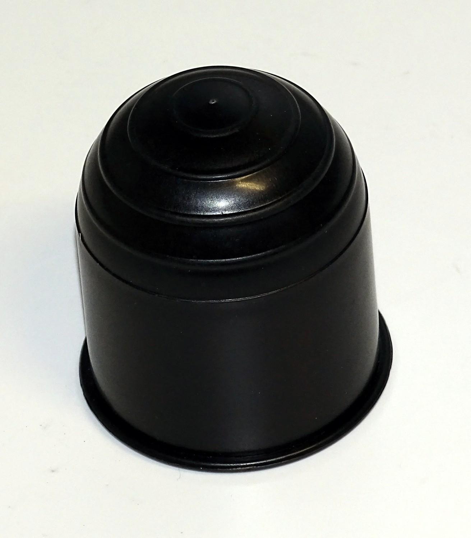 Kugelschutzkappe schwarz aus Kunststoff 001