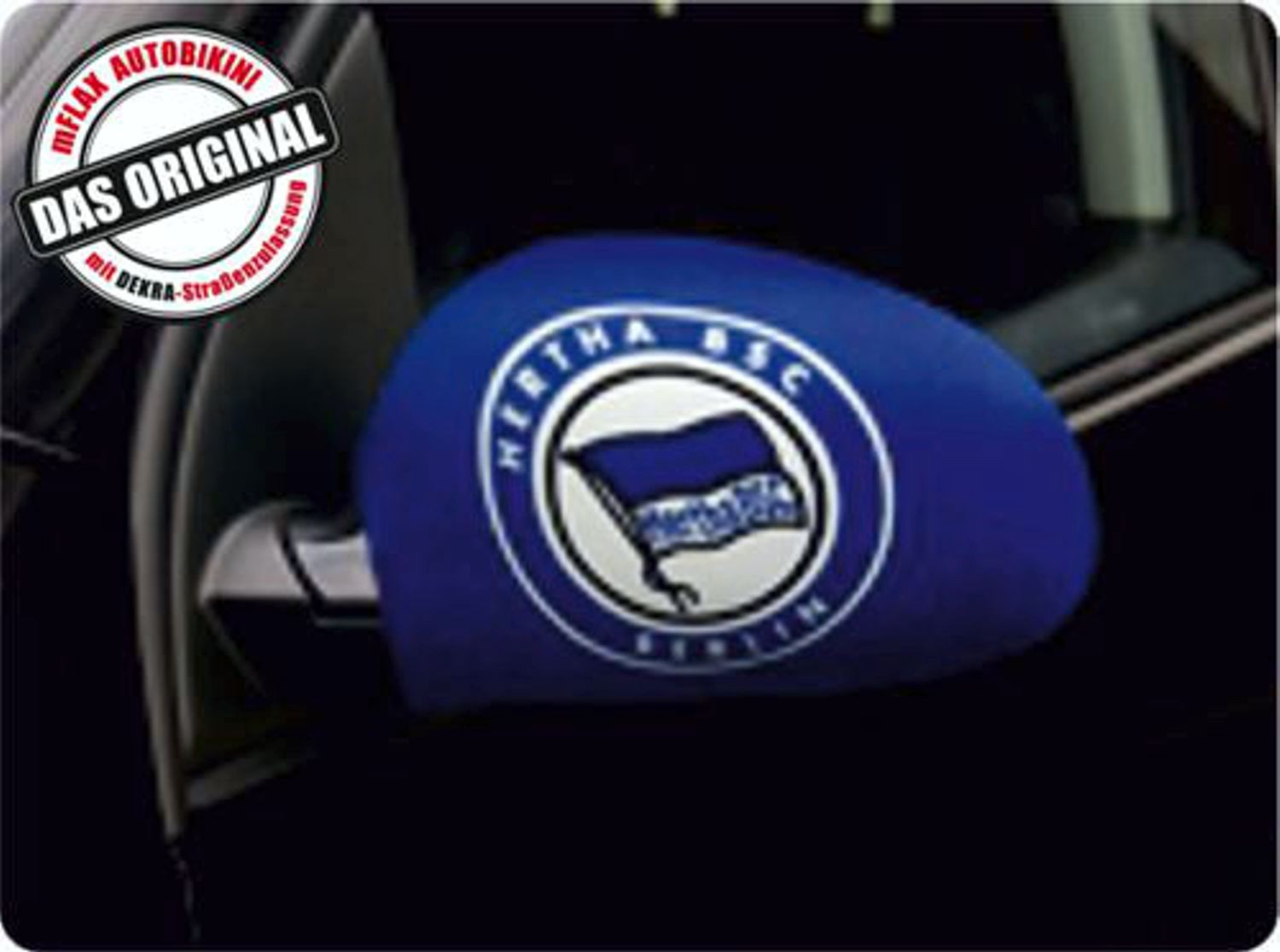Car-Bikini set of 2 german football league Herta BSC Berlin – Bild 1
