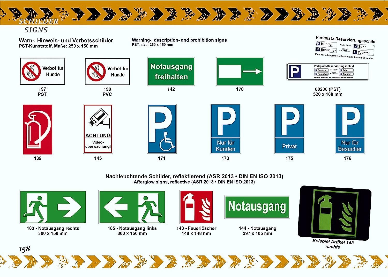 Unbefugten ist der Zutritt verboten! 150 x 250 mm Warn- Hinweis- und Verbotsschild PST-Kunststoff – Bild 5